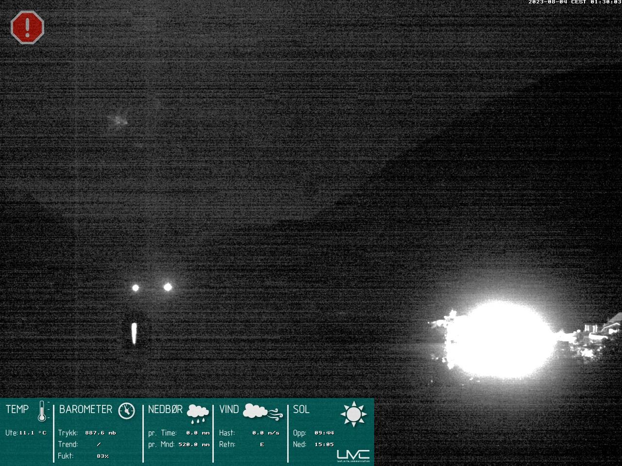 Webcam Gjendesheim, Vågå, Oppland, Norwegen